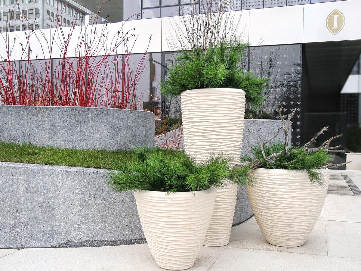 Vasi Per Piante Da Terrazzo vasi alti per piante esterno e fioriere da giardino per