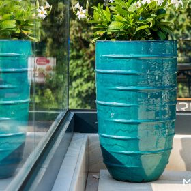 fioriere-turchese-ceramica-grande
