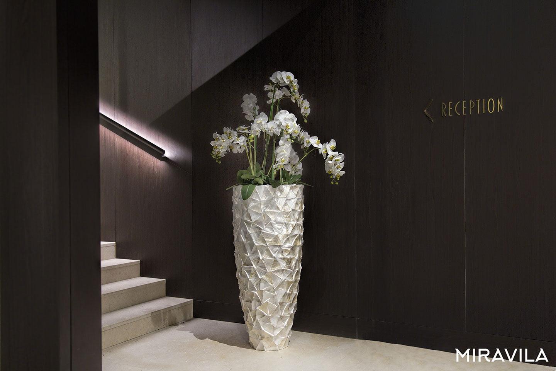 Vasi alti, ottimi per piante e fiori a gambo lungo   Miravila